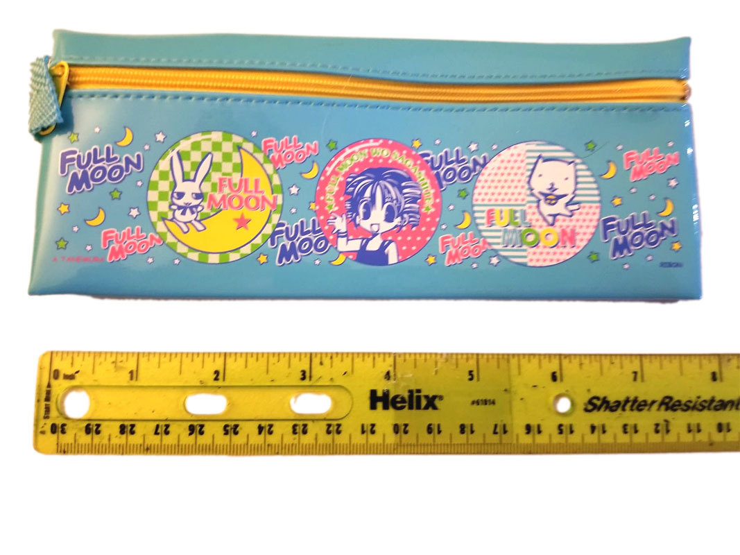 Full Moon o Sagashite Furoku Vinyl Anime Pencil Case Bag