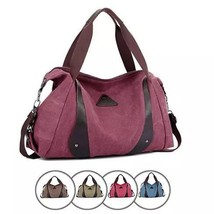 Jacqueline Canvas CrossBody Bag From Journey Collection - Color: Hot Pink - $72.09