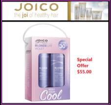 Joico Blonde Life Violet Shampoo, Conditioner Liter Duo - $55.00