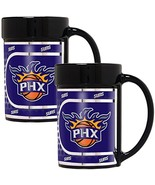 NBA Phoenix Suns 2-Piece 15 Oz Coffee Mug Set w/ Metallic Graphics - $25.50