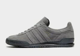 Adidas Originali Jeans Scarpe Sportive Uomo Grigio Camoscio Scarpe Tutte... - $154.78+