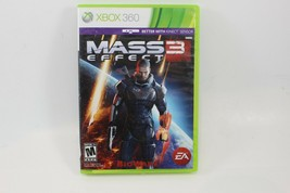 Mass Effect 3 (Microsoft Xbox 360, 2012) Case & Two Discs Free Shipping - $7.42