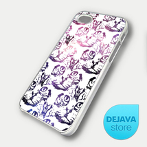 Cat Face Pattern Galaxy iPhone 5 Case - $14.95