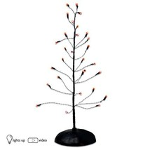 Department 56 Accessories for Villages Halloween Orange Twinkle Bright Tree - ₨1,455.16 INR