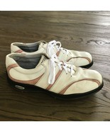 ECCO Women's BIOM Yak White, Peach, Leather Golf Shoes Size EU 42, US 11 - $25.74