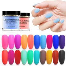 Matte Color Manicure Powder Nail Dipping Powder Nail Art Decorations  15 image 6