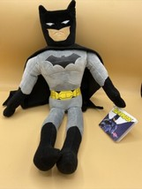 "Batman 16"" Plush Black Grey DC Comics Stuffed Doll Toy Kohls Cares W/ Tags - $14.80"