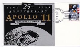 MOON LANDING 25th ANNIVERSARY #2841 WAPAKONETA, OH 7/20.1994 UNKNOWN PAS... - $4.44