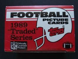 Empty 1989 Topps Traded Football Empty Box - $9.99