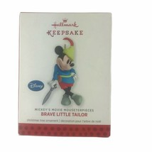 Hallmark 2013 Disney Mickey Brave Little Tailor Christmas Holiday Ornament - $16.66