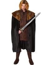 Kostüm Kultur Franco Mittelalterlich König Umhang Erwachsene Herren Halloween - $30.19