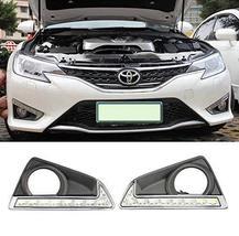 AupTech Daytime Running Lights LED Fog Cover DRL for Toyota Reiz MarkX 2... - $158.78