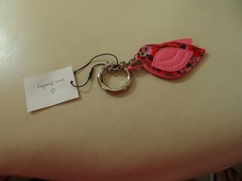 Vera Bradley Lovebird Bag Charm key chain in Havana Hothouse NWT  #2 - $35.00