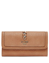 1 new guess Abbey Ray Slim Clutch camel - $35.00