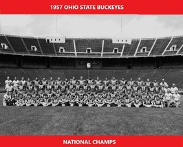 1957 Ohio State 8X10 Team Photo Buckeyes Picture Ncaa Football National Champs - $3.95