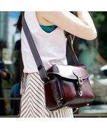 Retro PU Leather Shoulder Bag Camera Case for Canon EOS 650D 600D 550D 7... - £21.75 GBP