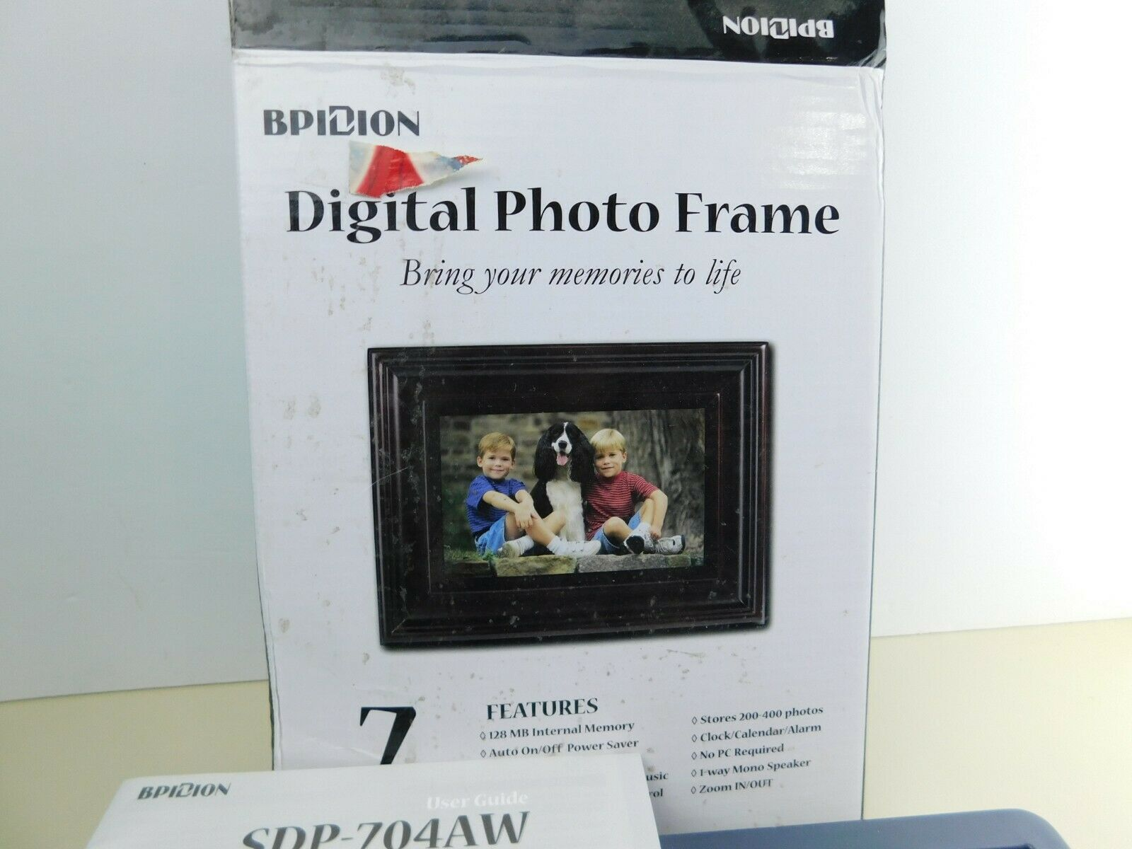 Primary image for BPIDION Digital Picture Frame SDP-704AW -Open Box 7 inch