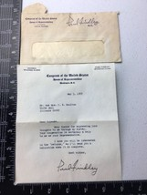 1969 Autographed Letter from Congressman Paul Findley Signed - $19.55