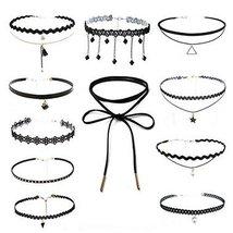 All-Purpos Style 10 Pcs Fashion Necklace Choker Collar Girls Lady