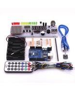 Arduino LED Starter Set Kit UNO R3 Mini 400 Point Learn Electronics Robo... - $53.46
