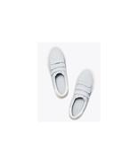 Tory Burch triple-strap sneakers blue silk / snow white Size US 8 NWB - $138.60
