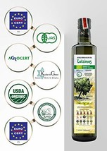 Latzimas Extra Virgin Greek Olive Oil First Cold Press Glass Bottle 750 ml - $38.17