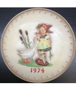"Goebel - M.J. Hummel 1974 4th Annual Plate ""Goose Girl"" - $14.84"