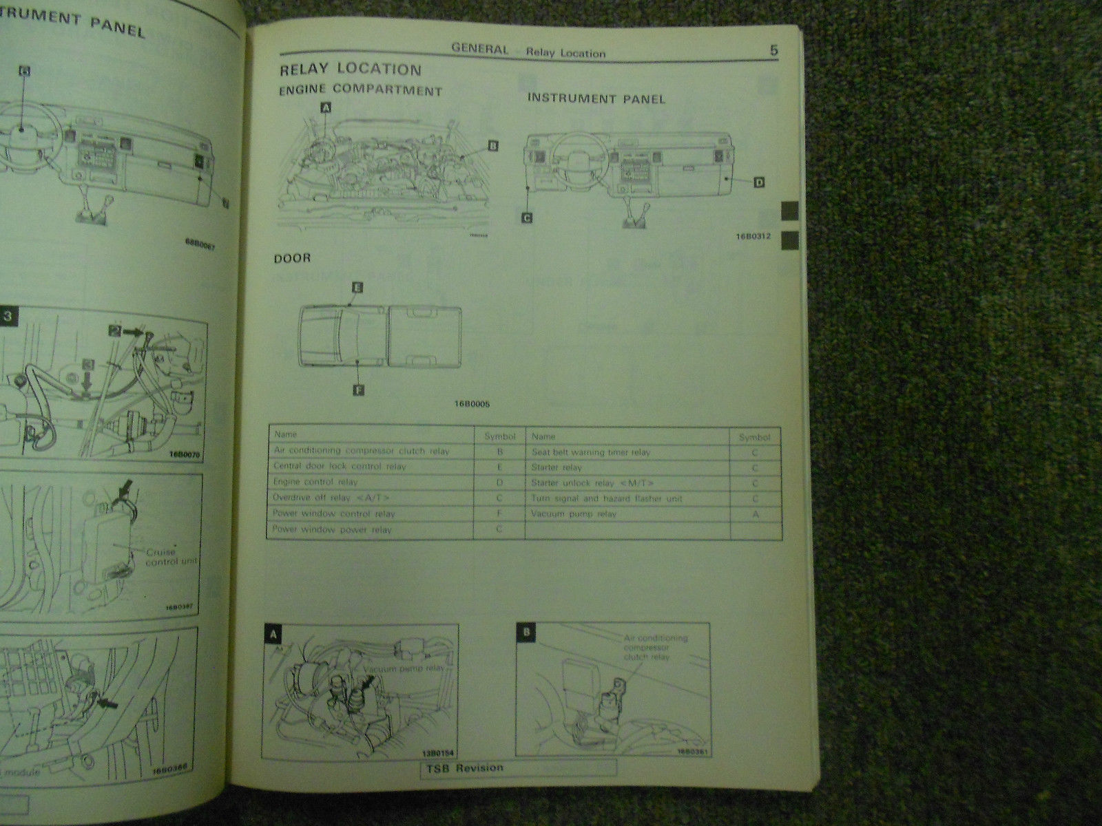 1992 1996 MITSUBISHI TRUCK Service Reoair Shop Manual VOLUME 2 FACTORY OEM 92 96 image 4