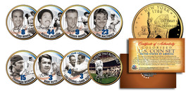 YANKEES LEGENDS 24K Gold Plated NY State Quarters US 7-Coin Set +Bonus B... - $19.75