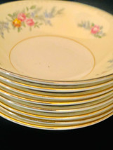 Homer Laughlin Porcelain (8) Eggshell Georgian Cashmere Bread Butter Plates - $32.95
