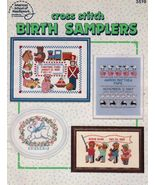 Cross Stitch Toyland Bunny Guardian Angels Birth Samplers Pattern Book - $13.99