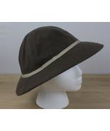 Vintage Eddie Bauer Wool Safari Hat Soft Adventure Outdoor Sun Cap Size ... - $19.99