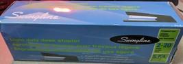 Swingline Light Duty - Stapler - 20 sheets - plastic, metal - black - $11.87