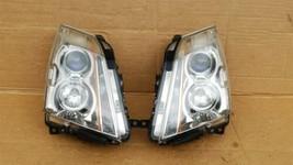 08-13 Cadillac CTS 4 door Sedan Halogen Headlight Lamp Set R&L