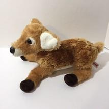 """Deer Fawn Aurora Plush Stuffed Animal White Tail 14"""" Long - $9.74"""