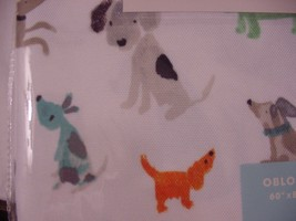 Cynthia Rowley Dogs Indoor/Outdoor Tablecloth 60 x 84 Oblong - $39.99