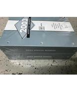 2003 CADILLAC SEVILLE Service Repair Shop Workshop Manual Set Brand New OEM - $336.55