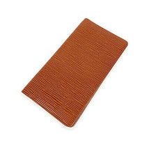 Authentic Louis Vuitton Vintage Tan Epi Leather Vertical Long Wallet - $166.32