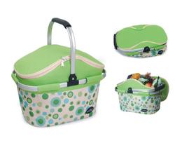 Aluminum framed picnic cooler basket 1004 Green - €31,00 EUR
