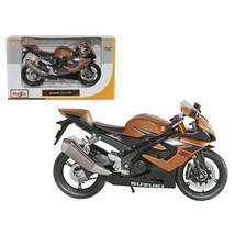 Suzuki GSX R1000 Bronze Motorcycle 1/12 Diecast Model by Maisto 31106brz - $20.76