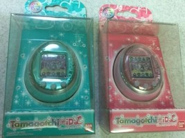 Bandai Tamagotchi ID L IDL05 Green and IDL01 Pink Released in 2011 from ... - $249.99