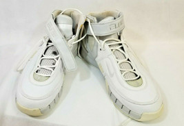 2006 Nike Shox Elite TB Retro Basketball Shoes Size 15 white gray silver... - $59.39