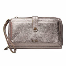 The Sak 3-In-1 Leather Phone Wallet & Clutch in Pyrite Metallic - $12.86