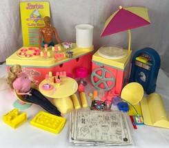 Vintage Barbie ice cream shoppe playlet Mattel 1989 - $27.61