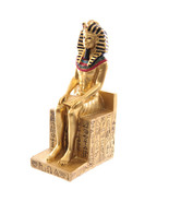 Egyptian Gold Ramases Figurine 12.5cm Ancient Design Home and Office Decor - $12.86