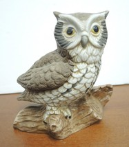 Six Vintage Ceramic Owl Figurines - $14.25