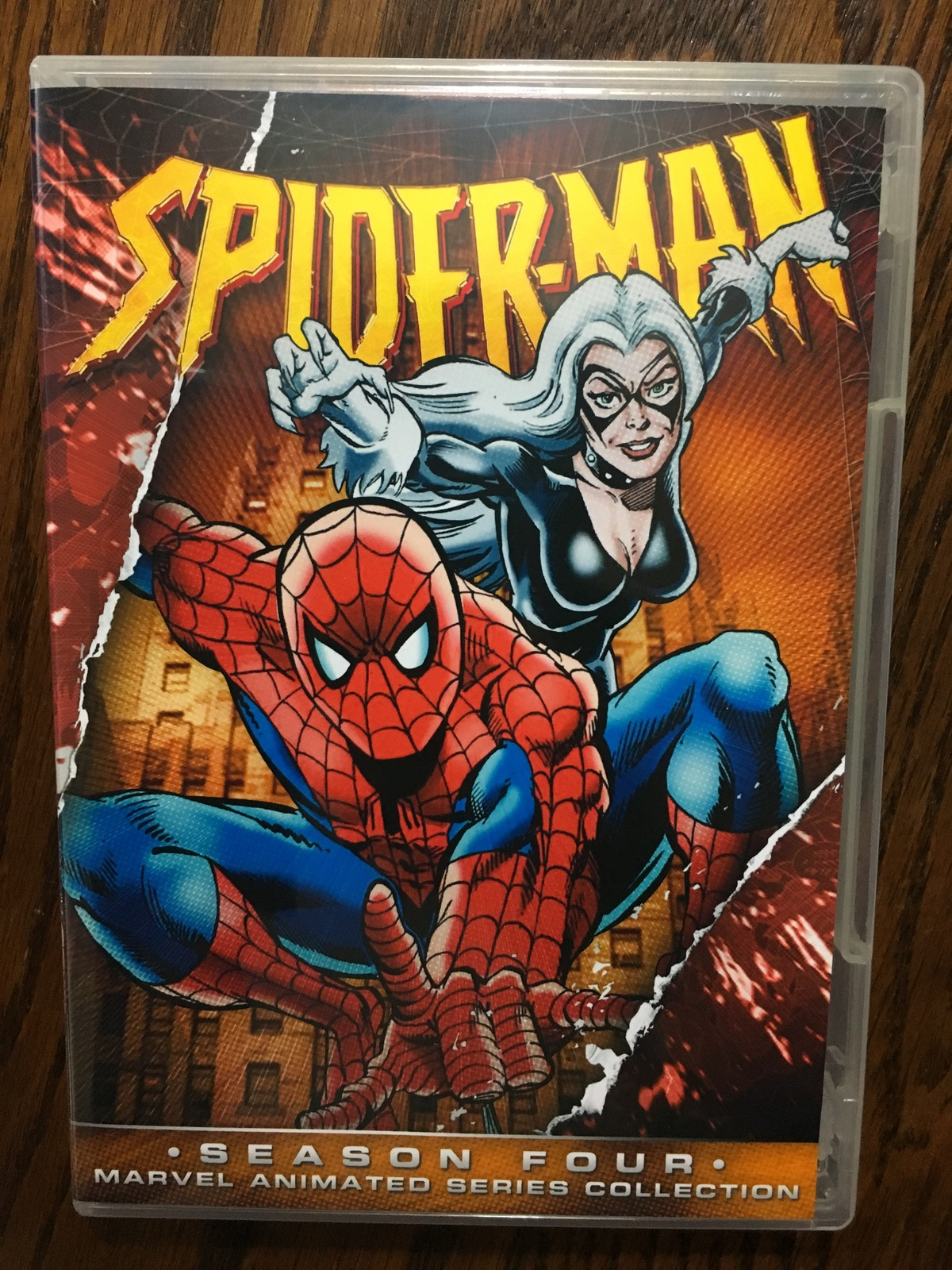 Spider-Man 1994 Series Season 4 DVD