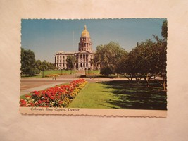 State Capitol Denver Colorado CO Continental Sized Postcard - $2.49