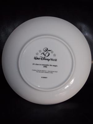 """1996 Disney World """"Its Time To Remember The Magic"""" Collector Plate With Box"""