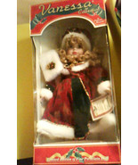 Christmas Vanessa Doll Collection by Vanessa Ricardi Year 2000 Special E... - $39.95